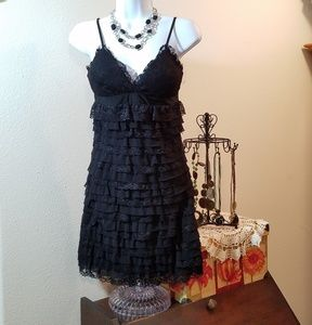 Forever 21 Lacey Little Black Dress